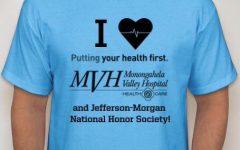 J-M National Honor Society hosts walk for Monongahela Valley Hospital