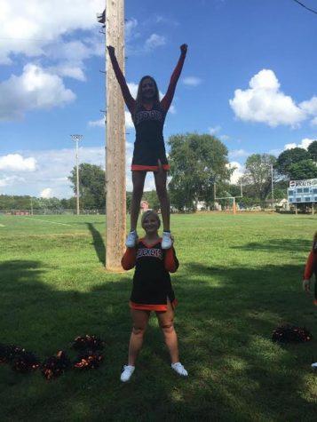 Cheerleaders Tumbling into the New Season