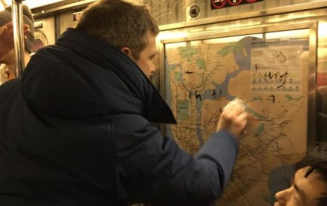 Hateful Graffiti Moves New Yorkers To Remove it From Subway Car
