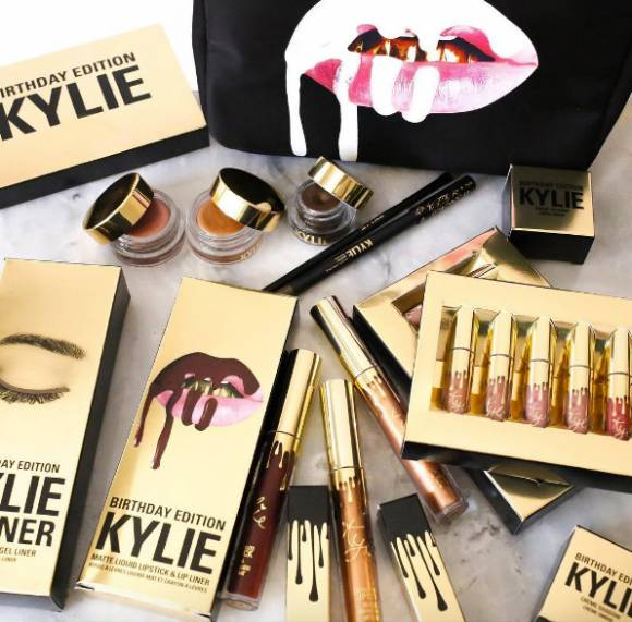 kylie jenner has revealed her new valentines day makeup on her snapchat jenner was happy to reveal what she is calling her favorite collection yet