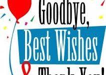 Goodbye and Farewell