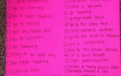 The Ultimate Senior Year Bucket List