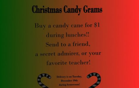 Christmas Candy Grams