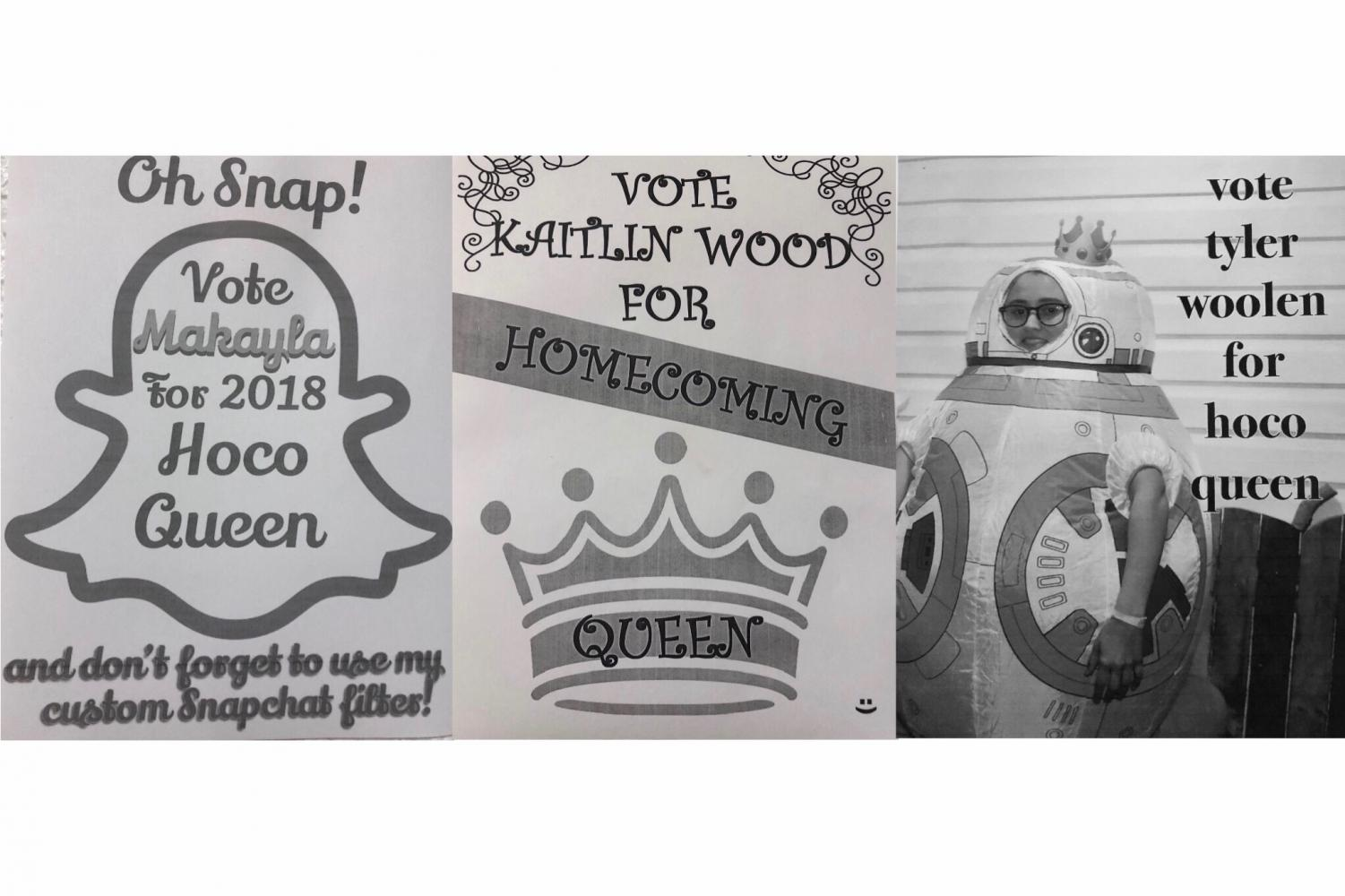 ( Photo Credit via Tyler Woolen ) Posters made by: Makayla McNett, Kaitlin Wood, and Tyler Woolen.